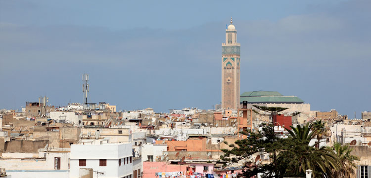 View over the old city of Casablanca, Morocco © philipus - Fotolia.com